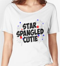 Star Spangled Cutie Women's Relaxed Fit T-Shirt