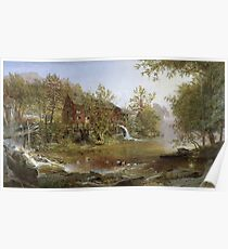 Jasper Francis Cropsey - The Old Mill Poster
