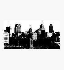 Detroit City, 2013 Photographic Print