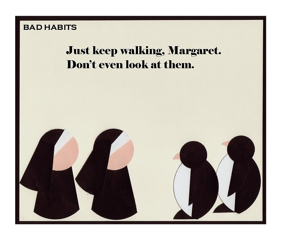 """""""Bad Habits"""" - Penguin Stalkers by ComicMom"""
