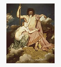 Jean - Auguste - Dominique Ingres - Jupiter And Thetis Photographic Print