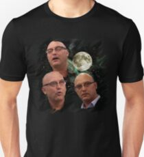 Three Gregg Wallace Moon Unisex T-Shirt