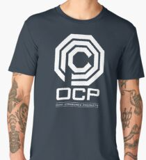 Robocop - OCP Omni Consumer Products White Men's Premium T-Shirt