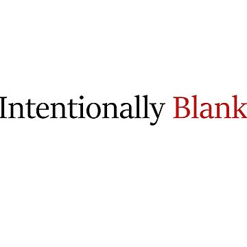Intentionally Blank by cjb9296