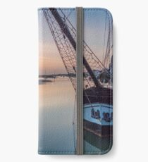 """""""Sunrise at Wells Harbour"""" iPhone Wallet/Case/Skin"""