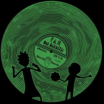 Schwifty Record by darqenator