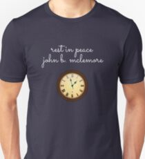 Rest In Peace John B Mclemore (Yellow Clock) Unisex T-Shirt