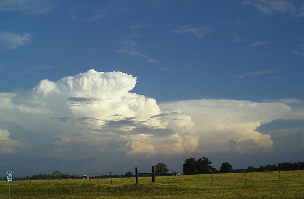 Big Clouds by Linda Mathews