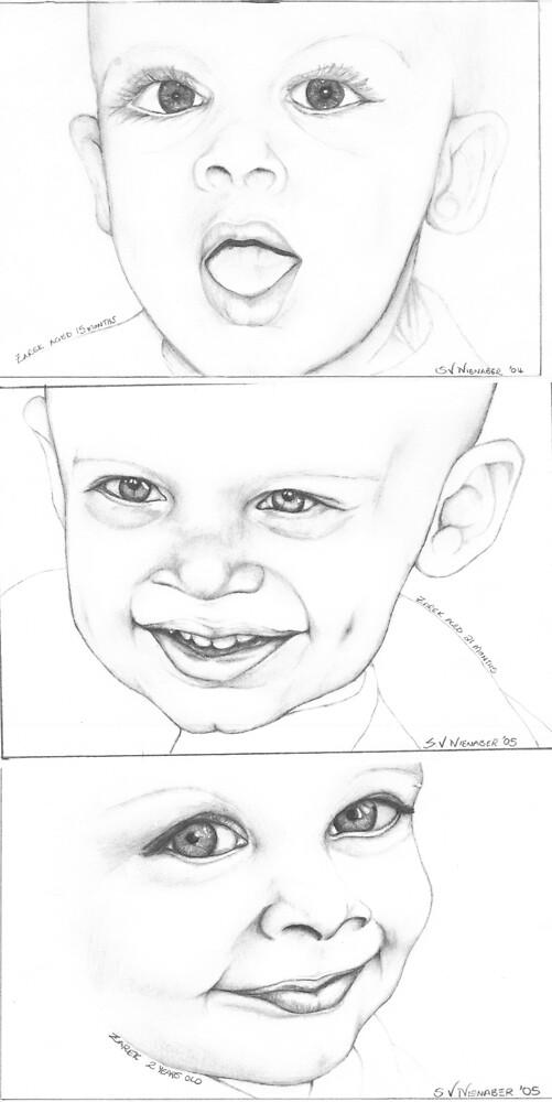Zarek's Babyhood Timeline by Stephanie Nienaber