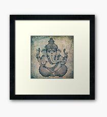 Deity Ganesh Framed Print