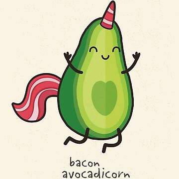 Bacon-Avocadicorn by daisy-beatrice