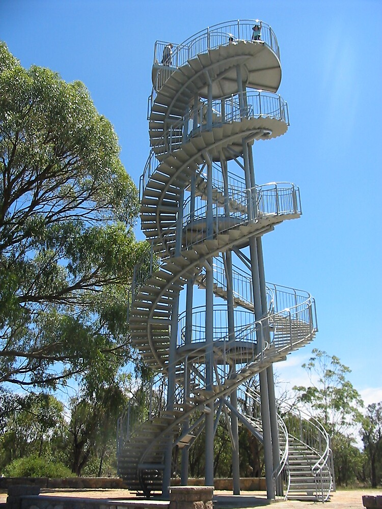 The Spiral Stairs by cailani