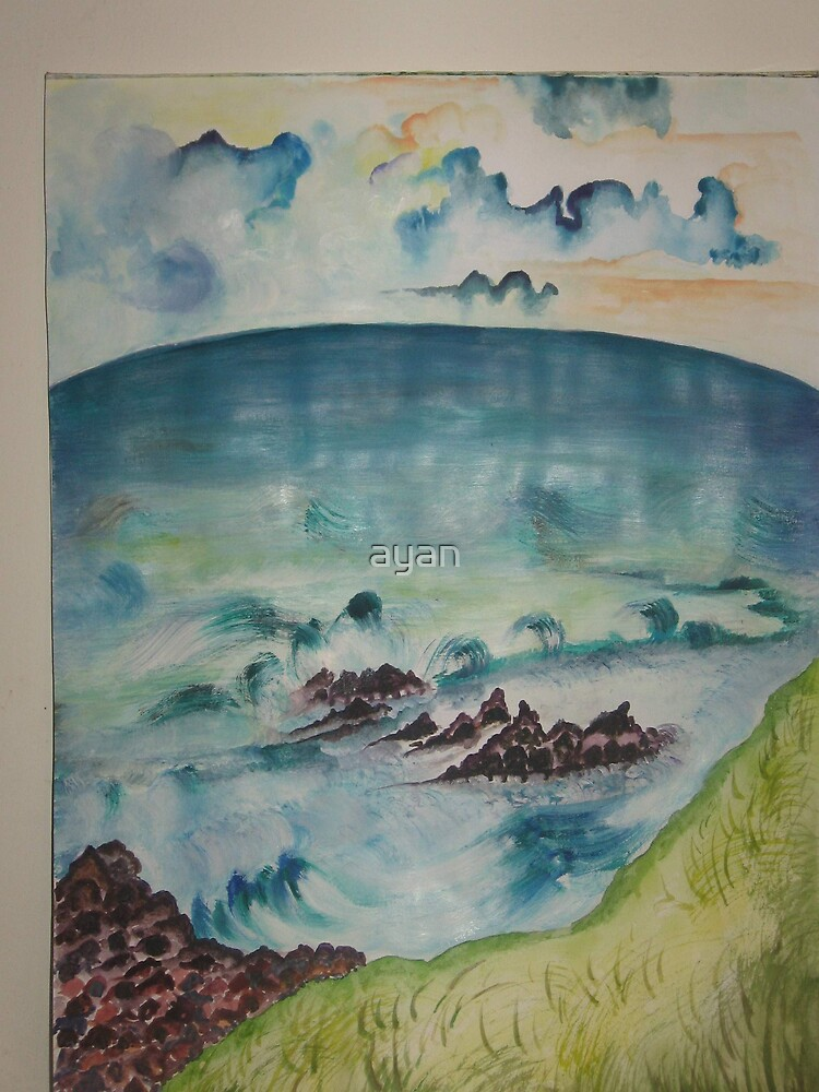 sea Side Size 29x42  by ayan