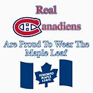 Custom - Toronto Maple Leafs x Montreal Canadiens by Daniel Lucas