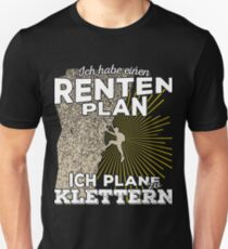 Rentenplan - Klettern T-Shirt