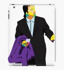 confused travolta iPad Case/Skin