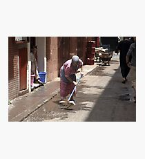 Sweeper Photographic Print