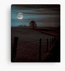 Moon Tor Canvas Print