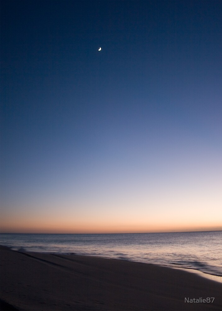 Moon and Sunrise by Natalie87