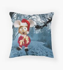 Topo Gigio CHRISTMAS SURPRISE PILLOW AND OR TOTE BAG Throw Pillow
