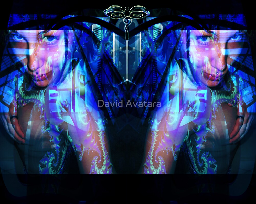 Study 3 Of Nicole  by David Avatara