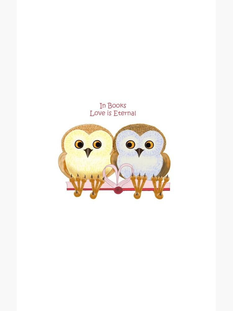 In Books Love Is Eternal by Leenasart