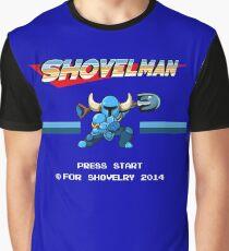 Shovel Man Graphic T-Shirt