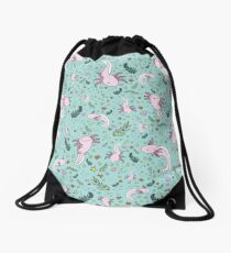 Axolotl Drawstring Bag