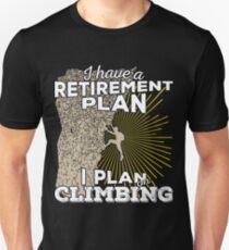 Retirement Plan - Climbing T-Shirt