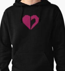 Homestuck - Heart 8-Bit Pullover Hoodie