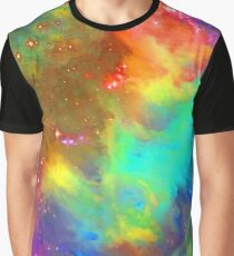 Rainbow Collage Too Graphic T-Shirt
