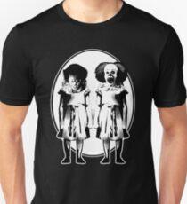 pennywise clown dancing movie creepy redrum horror king T-Shirt