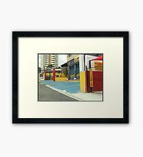 Cityscape Sao Paulo Brazil Framed Print