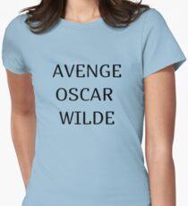 avenge oscar wilde Womens Fitted T-Shirt