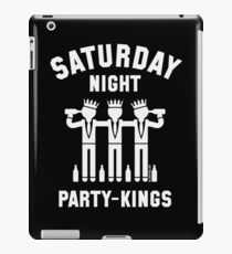 Saturday Night Party-Kings (White) iPad Case/Skin