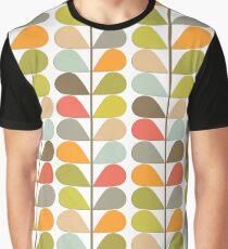Retro 60s Midcentury Modern Pattern Graphic T-Shirt