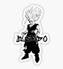 Bushido - The Way of the Warrior (Gohan) Sticker