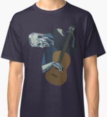 The Old Guitarist Classic T-Shirt