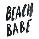 Beach Babe by Leah Flores