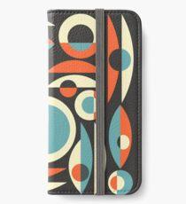 Retro Eames Era  Pisces iPhone Wallet/Case/Skin