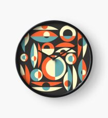 Retro Eames Era  Pisces Clock