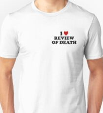 'The Review of Death' ❤ Logo Unisex T-Shirt