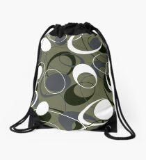 Retro 60s Ovals Drawstring Bag