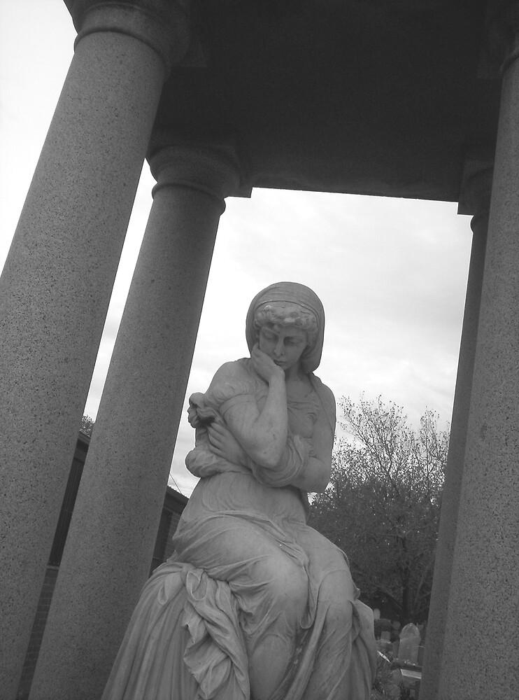 reflection in stone by Brendan McCallum