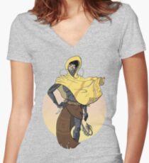 Muad'Dib Women's Fitted V-Neck T-Shirt