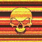 Striped Skull by wightjester