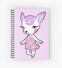 Diana Animal Crossing Spiral Notebook