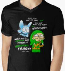 Navi Rick and Link Morty T-Shirt
