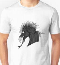 Black Demon Horse Unisex T-Shirt