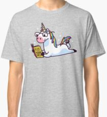 Unicorn Believe in Yourself Magically Fabulous II Classic T-Shirt